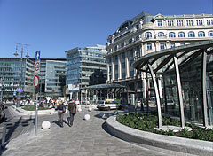 The renovated Kálvin Square - Budapešť, Maďarsko