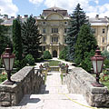 The courtyard of Szent István University can humble even some castles - Gödöllő (Jedľovo), Maďarsko