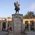 Statue of St. Stephen, king of Hungary - Mátészalka, Maďarsko