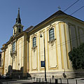 Parish Church of Terézváros (officially Parish Church of St. Teresa of Ávila) - Budapešť, Maďarsko