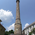 The 40 meter tall Minaret of Eger, medieval Turkish building - Eger, Maďarsko