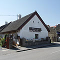 """Füstös ház"" (literally ""Smoky house"") folk house and gift shop - Tihany, Maďarsko"