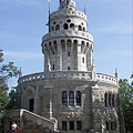 The Elisabeth Lookout Tower on the János Hill (or János Mountain) - Budapeşte, Macaristan
