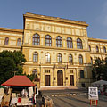 Main building of the University of Szeged (until 2000 it was named as József Attila University of Szeged, JATE) - Szeged, Macaristan
