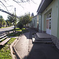 Details of the main street at the medical station - Barcs, Hungria