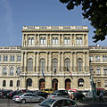 "Headquarters of the Hungarian Academy of Sciences (HAS, in Hungarian ""Magyar Tudományos Akadémia"" or MTA) - Budapeste, Hungria"