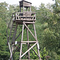 Reconstructed wooden watchtower - Recsk, Hungria