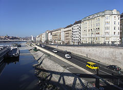 The Pest-side embankment from the Liberty Bridge - Budapeszt, Węgry