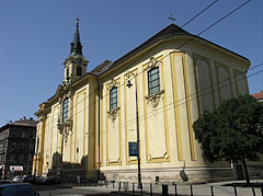 Parish Church of Terézváros (officially Parish Church of St. Teresa of Ávila) - Budapeszt, Węgry