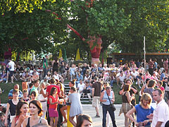 The Budapest Park outdoor music venue before the Pet Shop Boys concert - Budapeszt, Węgry
