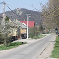 Street view in the village - Csővár, Węgry