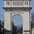 The only one Triumphal Arch building in current Hungary - Vác, Węgry