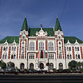 The eclectic-secession style Town Hall of Újpest was built in 1900 - Будапеща, Унгария