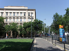 The area behind the St. Stephen's Basilica - Будапешт, Угорщина