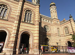 Dohány Street Synagogue (also known as the Great Synagogue) - Budapest, Ungarn