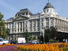 """The central building of the Ministry of Interior or Ministry of Home Affairs of Hungary (in Hungarian """"Belügyminisztérium"""") - Budapest, Ungarn"""
