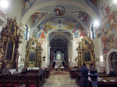 Interior of the Pilgrimage Church - Máriagyűd, Ungarn