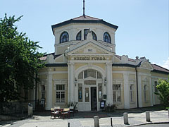 The Art Nouveau style former Municipal Bath building, today Thermal Spa and Wellness House of Szerencs - Szerencs, Ungarn