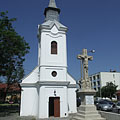 The Saint Francis Xavier Chapel is a pilgrimage site since 1767, according to a papal decree - Szolnok (Sollnock), Ungarn