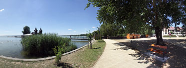 Lakeside of the Balaton - Keszthely, Ungarn