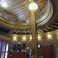 The entrance hall (lobby) of the Urania National Film Theatre (sometiles referred as movie palace or picture palace) - Boedapest, Hongarije