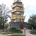 The Várhegy Lookout Tower and its surroundings - Fonyód, Hongarije