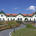 Visitor center of the open-air museum - Szentendre, Hongarije