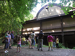The second, smaller exhibition hall from outside - Ipolytarnóc, Ungari