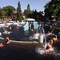 """The """"Water Massage Pool"""" with curative thermal mineral water - Gyula, Ungarn"""