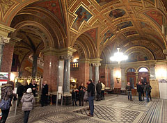 The lobby of the Budapest Opera House - Budapest, Ungern