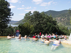 The ugly but likeable ferro-concrete rings at the thermal pools of Lepence beach - Visegrád, Ουγγαρία