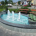Frog fountain - Nagykőrös, هنغاريا