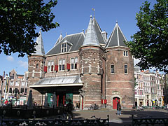 The De Waag was a weight-house, but with its pointed towers it rather looks like a castle - Amsterdam, Netherlands