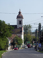 St. Ignatius Roman Catholic Church, beside the main road - Balatonalmádi, Hungary