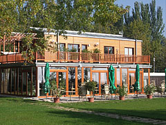 Bella Restaurant, from the beach - Balatonfüred, Hungary