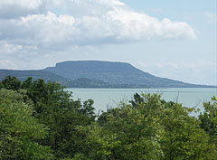The view of the Badacsony Hill from Balatongyörök village - Balatongyörök, Hungary