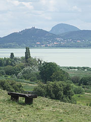 Sight to the Castle of Szigliget from Balatongyörök village - Balatongyörök, Hungary