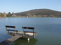 The small (4-hectare) lake in the hills - Bánk, Hungary