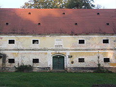 The former granary next to the Széchenyi Mansion was built in 1834 - Barcs, Hungary
