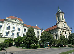 The Evangelical (Lutheran) Secondary School and the Evangelical Great Church - Békéscsaba, Hungary
