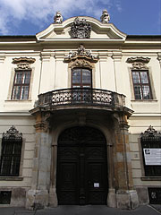 The baroque Erdődy Palace (or Erdődy House) - Budapest, Hungary
