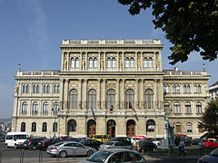 "Headquarters of the Hungarian Academy of Sciences (HAS, in Hungarian ""Magyar Tudományos Akadémia"" or MTA) - Budapest, Hungary"