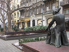 Statue of Franz Liszt (or Ferenc Liszt) in the park - Budapest, Hungary