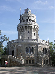 The Elisabeth Lookout Tower on the János Hill (or János Mountain) - Budapest, Hungary