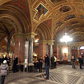 The lobby of the Budapest Opera House - Budapest, Hungary