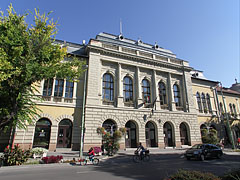The eclectic style Town Hall of Cegléd - Cegléd, Hungary