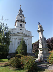 The neoclassical style Roman Catholic Parish Church - Cegléd, Hungary