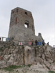 The Keep (residental tower) on the rocks - Csesznek, Hungary