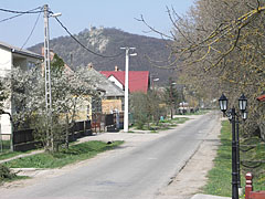 Street view in the village - Csővár, Hungary