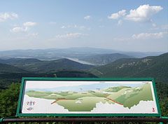 "The unfolding panorama on the Dobogó-kő mountain peak, the view of the surrounding mountains and the Danube Bend (in Hungarian ""Dunakanyar"") - Dobogókő, Hungary"